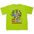 LEGO T-Shirt - Lego Club (Lime) (TS67)