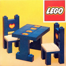 LEGO Table and chairs Set 275-1
