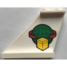 LEGO Tail 4 x 1 x 3 with Cargo Logo on Left Sticker (2340)