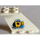 LEGO Tail 4 x 2 x 2 with Sticker from Set 6441 (3479)