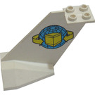 LEGO Tail Plane with Package Logo from set 6375 (4867)