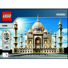 LEGO Taj Mahal Set 10189 Instructions