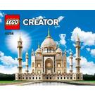 LEGO Taj Mahal Set 10256 Instructions