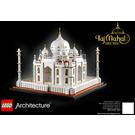 LEGO Taj Mahal Set 21056 Instructions