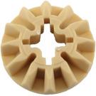 LEGO Tan Bevel Gear with 12 Teeth (6589)