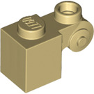 LEGO Tan Brick 1 x 1 x 2 with Scroll and Open Stud (20310)
