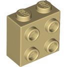 LEGO Tan Brick 1 x 2 x 1.66 with Studs on One Side (22885)