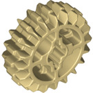 LEGO Tan Double Bevel Gear with 20 Teeth (Reinforced) (18575)
