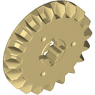 LEGO Tan Gear with 20 Teeth and Bevel (32198)