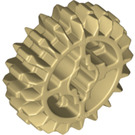 LEGO Tan Gear with 20 Teeth and Double Bevel (Reinforced) (18575)
