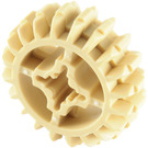 LEGO Tan Gear with 20 Teeth and Double Bevel Unreinforced (32269)