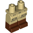LEGO Tan Hiker Minifigure Hips and Legs (27484)