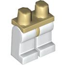 LEGO Tan Minifigure Hips with White Legs (73200 / 88584)