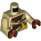 LEGO Tan Pyro Minifig Torso (76382)