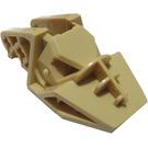 LEGO Tan Ridged Head / Foot 3 x 6 x 1.6 (32165)