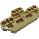 LEGO Tan Technic Connector Block 3 x 6 with Six Axle Holes and Groove (32307)