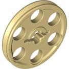 LEGO Tan Wedge Belt Wheel (4185)