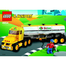 LEGO Tanker Truck Set 4654 Instructions