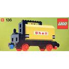 LEGO Tanker Wagon Set 136