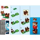 LEGO Tanooki Mario Power-Up Pack Set 71385 Instructions