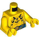 LEGO Tattooga Minifig Torso (973 / 76382)