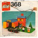 LEGO Taxi Garage Set 368 Instructions