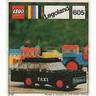 LEGO Taxi Set 605-2 Instructions