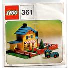 LEGO Tea Garden Cafe Set 361-1 Instructions