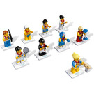 LEGO Team GB Minifigures - Complete Set 8909-17