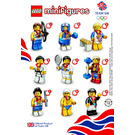 LEGO Team GB Olympic Minifigure - Random Bag Set 8909-0 Instructions