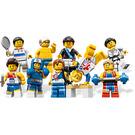 LEGO Team GB Olympic Minifigure - Random Bag Set 8909-0 Packaging
