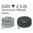 LEGO Technic Alloy Wheels (and Tyres) Set 5203