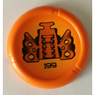 LEGO Technic Bionicle Weapon Throwing Disc with 199 (Disk of Time) (32533)