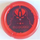 LEGO Technic Bionicle Weapon Throwing Disc avec Huna (Toa Metru) Mask (32533)