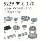 LEGO Technic Gear Wheels and Differential Housing Set 5229