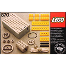 LEGO Technical Motor, 4.5V Set 870