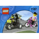 LEGO Telekom Race Cyclist and Television Motorbike Set 1197-1