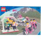 LEGO Telekom Race Cyclists and Winners' Podium Set 1199 Instructions