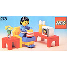 LEGO Television Room Set 278