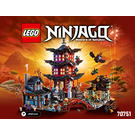 LEGO Temple of Airjitzu Set 70751 Instructions