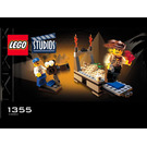 LEGO Temple of Gloom Set 1355 Instructions