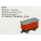LEGO Tender 4.5V Battery Red. For Trains with Battery Motor 810 Set 5075