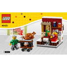 LEGO Thanksgiving Feast Set 40123 Instructions