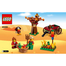 LEGO Thanksgiving Harvest Set 40261 Instructions