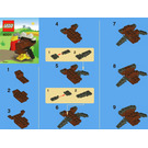 LEGO Thanksgiving Turkey Set 40011 Instructions