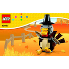 LEGO Thanksgiving Turkey Set 40091 Instructions