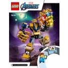 LEGO Thanos Mech Set 76141 Instructions