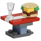 LEGO The Avengers Advent Calendar Set 76196-1 Subset Day 6 - Picnic Table