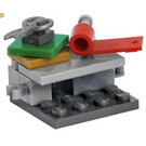 LEGO The Avengers Advent Calendar Set 76196-1 Subset Day 8 - Gift Wrapping Station