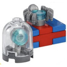 LEGO The Avengers Advent Calendar Set 76196-1 Subset Day 9 - Gift and Snowglobe